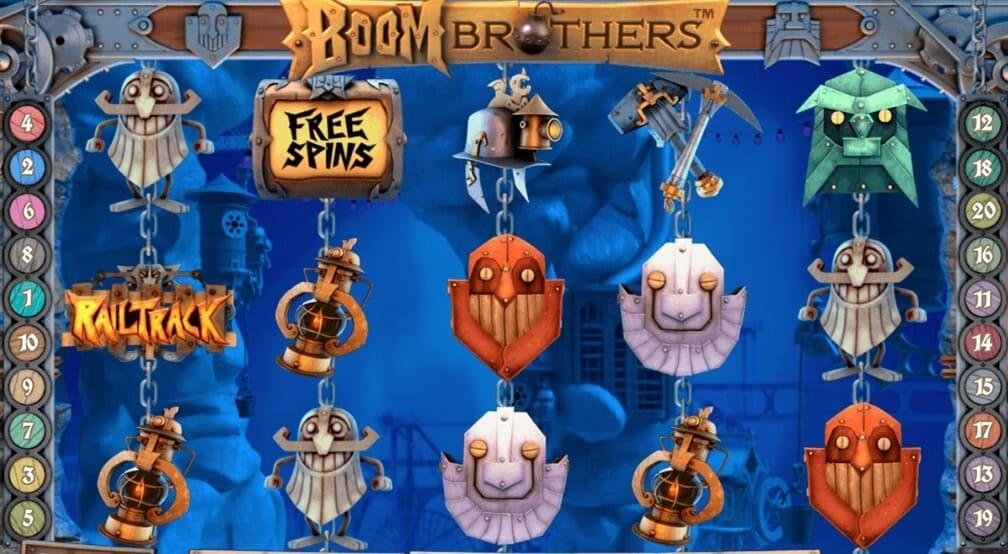 Boom Brothers är en unik och kul spelautomat